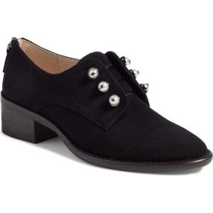 Louise et Cie Black Pearl Fren Oxford Shoes | 7.5